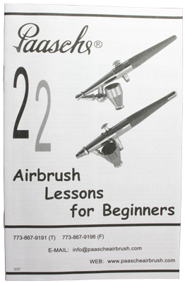 22 Airbrush Lessons for Beginners Booklet