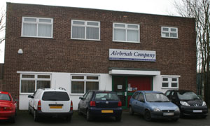 The Airbrush Company, Lancing Business Park