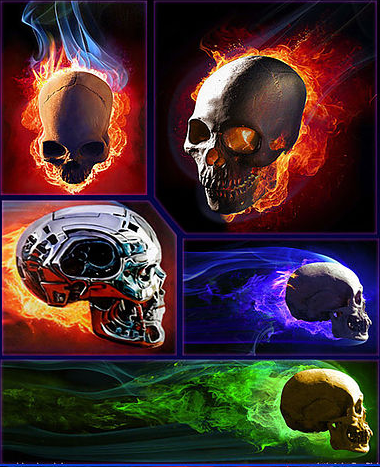 Automotive Skull and Fire Course - Dru Blair (27-29 Sept 2018)