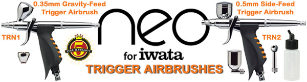 Neo for Iwata TRN airbrushes