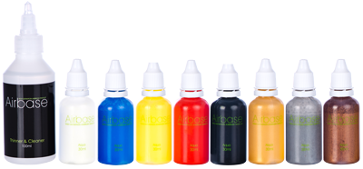 Aqua Colours Pack & 100ml Thinner and Rinse