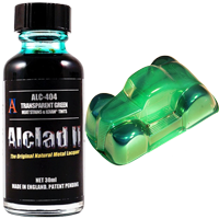 Alclad II Transparent Green (30ml)