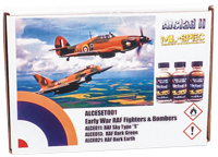 Alclad II Early War RAF Fighters & Bombers Set (3 x 30ml)