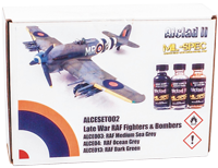 Alclad II Late War RAF Fighters & Bombers Set (3 x 30ml)