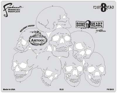 Mike Lavallee\'s Boneheadz Eight8Dead Set of 4