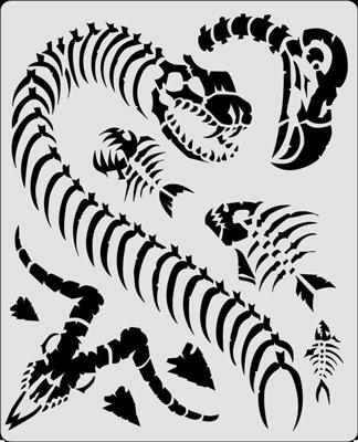 Curse Of Skull Petting Zoo Artool Freehand Airbrush Templates