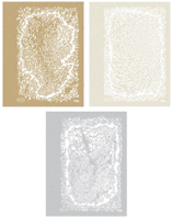 Artool Texture FX3 Mini Stencils (Set of 3)