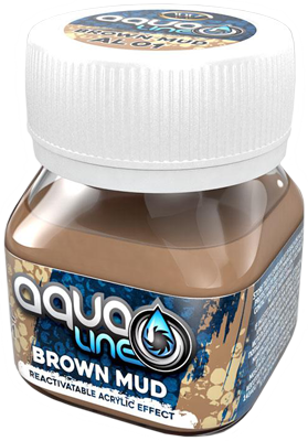 Wilder Aqualine Brown Mud (50ml)