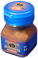 Wilder Gunpowder Line Medium Brown (50ml)