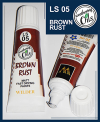 Wilder Weathering Oils Brown Rust (20ml)
