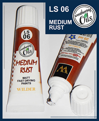 Wilder Weathering Oils Medium Rust (20ml)
