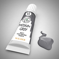 Wilder Weathering Oils Medium Grey (20ml)
