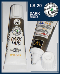 Wilder Weathering Oils Dark Mud (20ml)