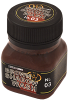 Wilder NitroLine Brown Shadow Wash (50ml)