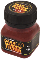 Wilder NitroLine Dark Maroon Filter (50ml)
