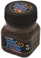 Wilder NitroLine Dark Brown Filter (50ml)