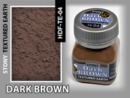 Wilder Dark Brown Stony Textured Earth (50ml)