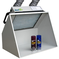 BenchVent BV100H-D Hooded Ducted Spray Booth / Extractor