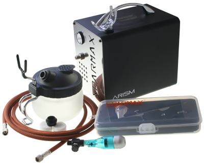 Sparmax ARISM Compressor Kit Recommended by Cassie Brown Sugarcraft Specialist