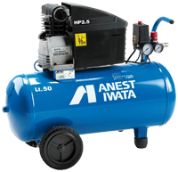 Anest-Iwata Effective Air 50 Litre Tank Compressor