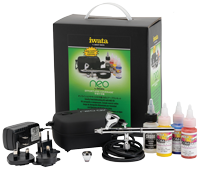 Neo for Iwata Gravity-Feed Airbrushing Kit