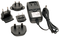 Universal AC Adapter with International Plugs for Iwata Freestyle and NEO compressor