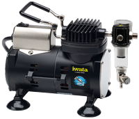 Iwata Studio Series Sprint Jet compressor