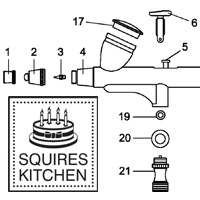 Squires Kitchen parts