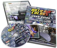 Simon Murray - Auto-Air Colors User Guide (DVD)