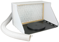 Hobby Spray Booth / Extractor with Turntable plate [NEW | DAMAGED BOX]