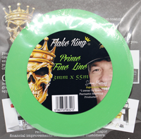 Prime Green Flex Fine Line Tape 3mm x 55m