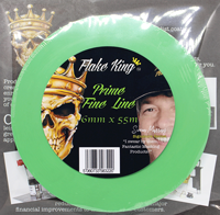 Prime Green Flex Fine Line Tape 6mm x 55m