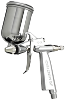 Anest Iwata RG3 Side-Feed Spray Gun with 4oz (110ml) cup