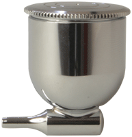 1/3oz (9.3ml) Metal Fluid Side/Gravity Cup with Lid for Revolution TR0/TR1