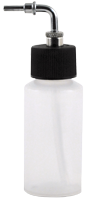 1oz (28ml) high strength translucent side feed bottle