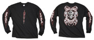Fraser-Vandemon Long Sleeve Tribal T-shirt (xx-large)