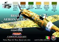 LifeColor WWII Italian Royal Air Force Set 1 (22ml x 6)
