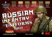 LifeColor Russian Uniforms WWII Set [NEW | DAMAGED BOX]