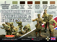 LifeColor British WWI Uniforms & Equipment set