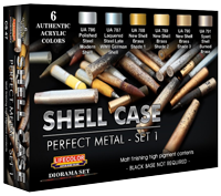 LifeColor Shell Case Perfect Metal set 1