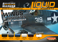 LifeColor Liquid Pigments Wings & Fuselage set