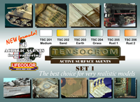 LifeColor Tensocrom Set 1 (22ml x 6) [NEW | DAMAGED BOX]