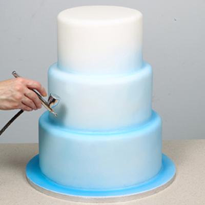 Moody Blues Airbrushed Cake Tutorial by Lisa Munro ...