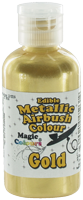 Magic Colours™ Metallic Airbrush Colours - Gold (55ml)