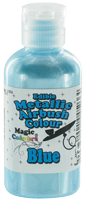 Magic Colours™ Metallic Airbrush Colours - Blue (55ml)
