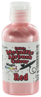 Magic Colours™ Metallic Airbrush Colours - Red (55ml)