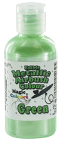 Magic Colours™ Metallic Airbrush Colours - Green (55ml)