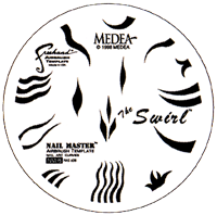 Medea Nail-Master Shield - The Swirl