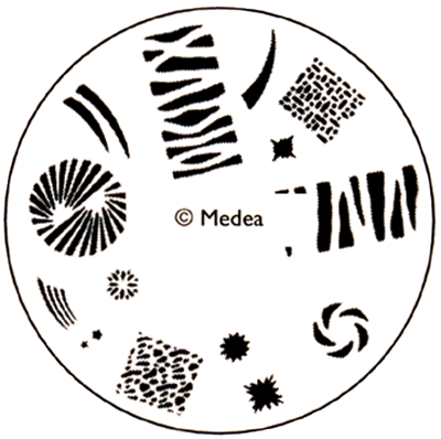 Medea Design Wheel - Jungle Print