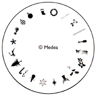 Medea Design Wheel - Christmas